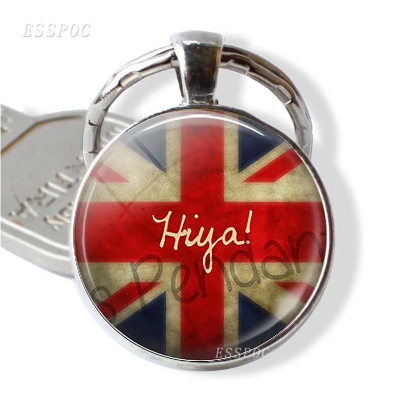 YIN YANG CHARM KEYRING BAG CHARM SILVER PLATED GIFT BAG UK SELLER