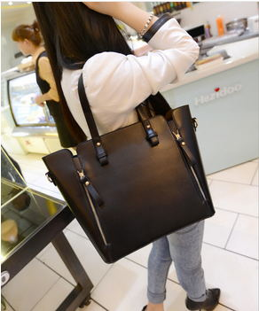 women messenger bags 2015 Hot Selling fashion Models Women Shoulder Bag Messenger Bag Women's Handbag PU Bag BLACK and RED