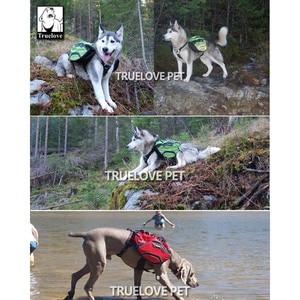 Image 5 - Truelove Due Utilizzato Cane Zaino Harness Impermeabile Formazione di Campeggio Esterna Trekking Multi Giorno Backcountry Pet Zaino Per Cani