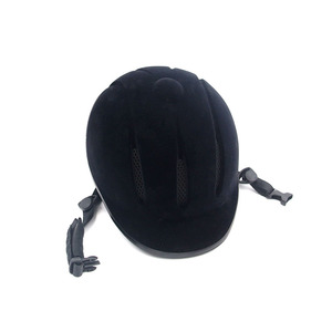 Image 4 - Professional Horse Riding Helmet Adjustable Size Half Face Cover Protective Headgear Secure Equipment for Questrian Riders
