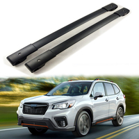 New arrival extensible roof bar roof rack cross bar for Subaru Forester 2013 2018+,thicken aluminum alloy foot,powerful loading