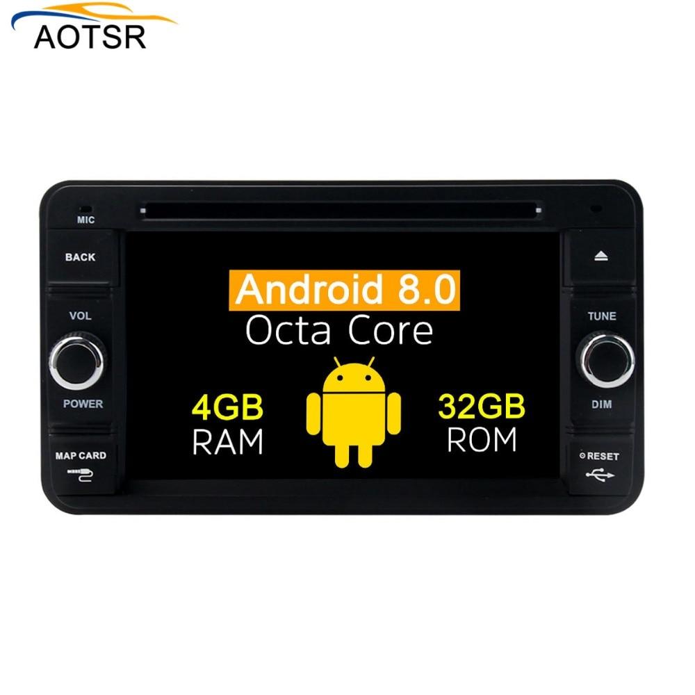 IPS Screen Android 8 0 Car Radio Multimedia Player head unit For Suzuki Jimny 2007 2017