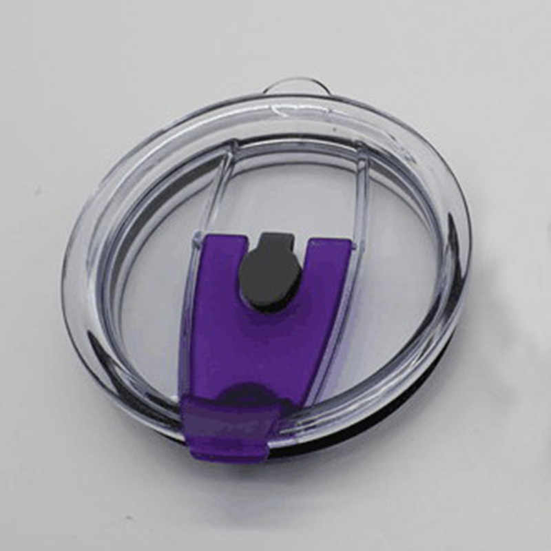 Isolasi Termal Penutup Segel untuk Teh Penutup Gelas Cangkir Kopi Dapat Memasukkan Jerami Anti Debu Tahan Bocor Dapat Digunakan Kembali Gelas Plastik tutup