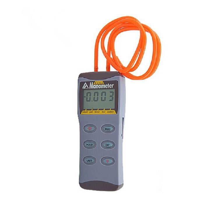 Digital Manometer Pressure Gauge Differential Pressure Meter Tester tg105 digital car tire tyre air pressure gauge meter manometer barometers tester