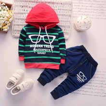 boys clothing set spring  autumn new long sleeve cotton hoodie clothing children kids casual sport sets children clothing sets baby kids boy hoodie pure cotton long sleeve streetwear style clothing printing suits boys sweater black