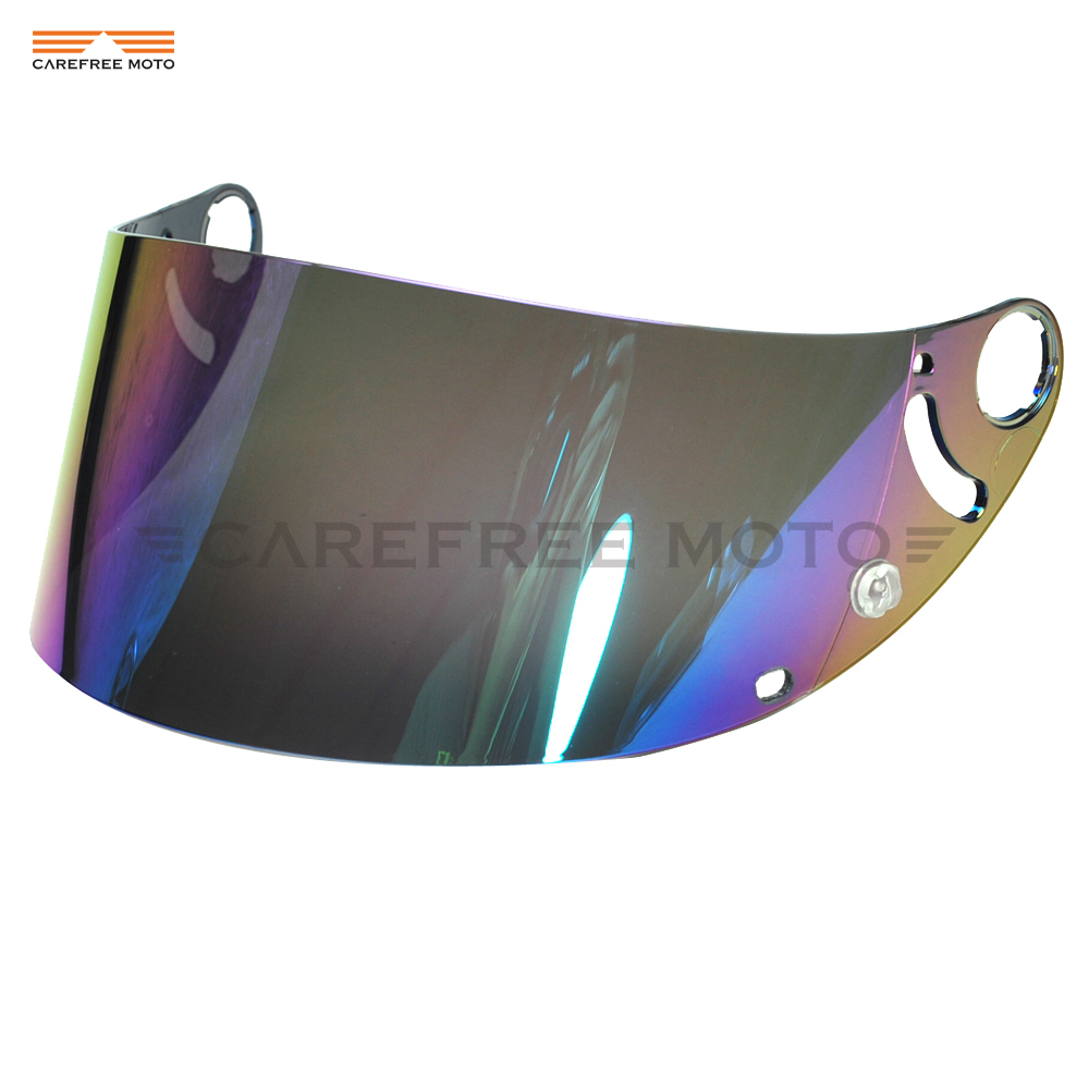 Gold Mirror Visor Shield Fits Shark RSR RSR2 RSX RS2