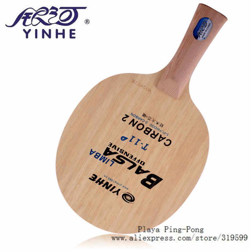 Galaxy / Milky Way / Yinhe T-11+ (T 11+, T11+) fast break loop Limba Balsa OFF Table Tennis Blade for Racket