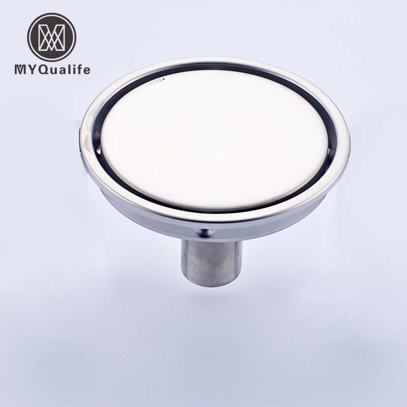 Round Shape Bathroom Insert Floor Drain Shower Waste Grates Drain 15cm Stainless Steel Free Shipping sitemap 149 xml page 8