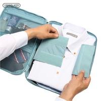 Business Men T Shirt Clothing Packing Bag Women& Men's Garment Organizer Bags Travel Bag Men Durable Bags To Make Tidy Suitcase