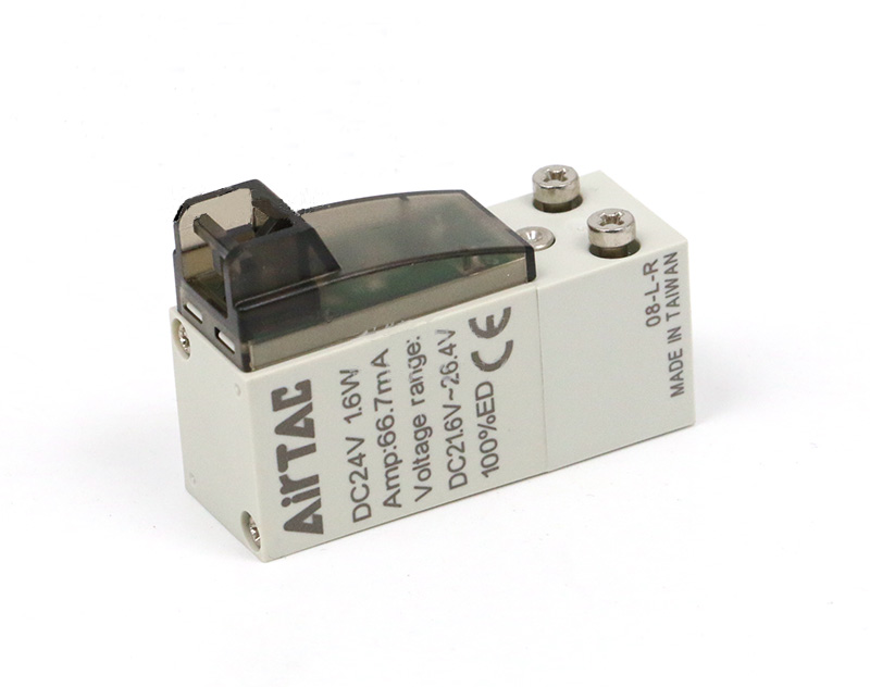 3/2 way AirTAC original miniature solenoid valve without wire CPV15-A/B/C/E/F-P with manual pin Inner Guide type pneumatic valve