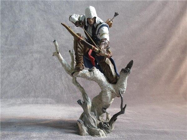 Assassin's Creed 3 Коннор ПВХ фигурку Коллекционная модель игрушки 26 см KT233