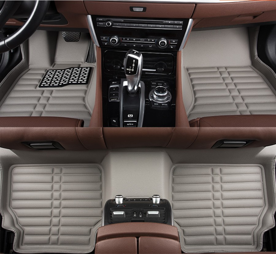 For Hyundai Grand Santa Fe 2013-2017 Car Floor Mats Foot Mat Step Mats High Quality Brand New Waterproof,convenient,Clean Mats beibehang european minimalist bedroom cozy luxury highend vertical stripes wallpaper the living room tv backdrop stereoscopic 3d