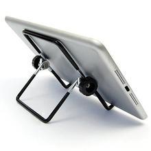 Универсальный Регулируемый портативный складной металлический держатель подставка для планшетного ПК телефона