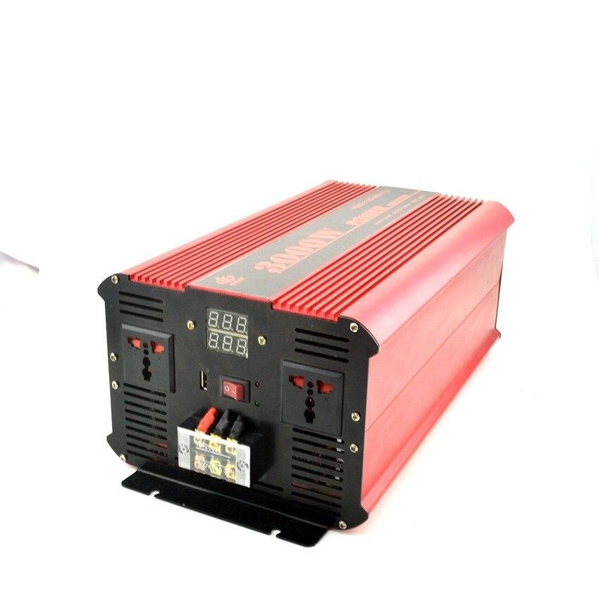 цена на MKELE high quality dc 24V to ac 110v 3000 watt power Pure Sine Wave Inverter