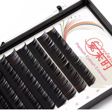 Free Shipping Mix Length Lashes Individual Eyelash Extension 3D Eye lash Korea Silk Lashes Beauty Makeup tools