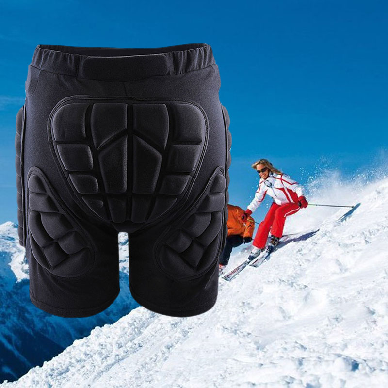 Winter warm Cotton Outdoor Gear Hip Protective Padded Shorts Skate Skating Snowboard Pants breathable elasticAnti-Bacterial