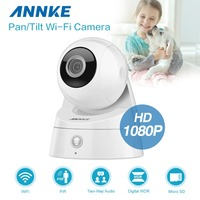 ANNKE 1080P HD Wireless IP Camera 2MP Wifi Cam Home Indoor CCTV Surveillance Camera Baby Monitor