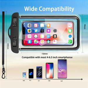 Image 4 - USLION Universal Waterproof Case For iPhone 11 Pro Max XS MAX X XR 8 7 6 Plus Cover Pouch Bag Cases For Samsung Huawei Xiaomi