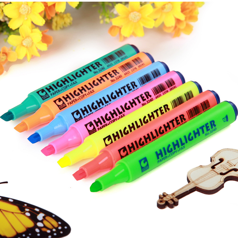 STA 8 Colors Artist Marker Set Animation Manga Design School Drawing Sketch Marker For Drawing Graffiti Office school supplies эрнест хемингуэй for whom the bell tolls