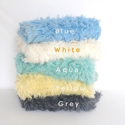 Posing Backdrop Large Size Wool Fur Wool Flokati Rug New born Photography Props Baby Lamb Blanket Greek Rug Beanbag Cover Layer