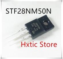 10pcs/lot STF28NM50N STF28NM50 28NM50N TO-220F IC