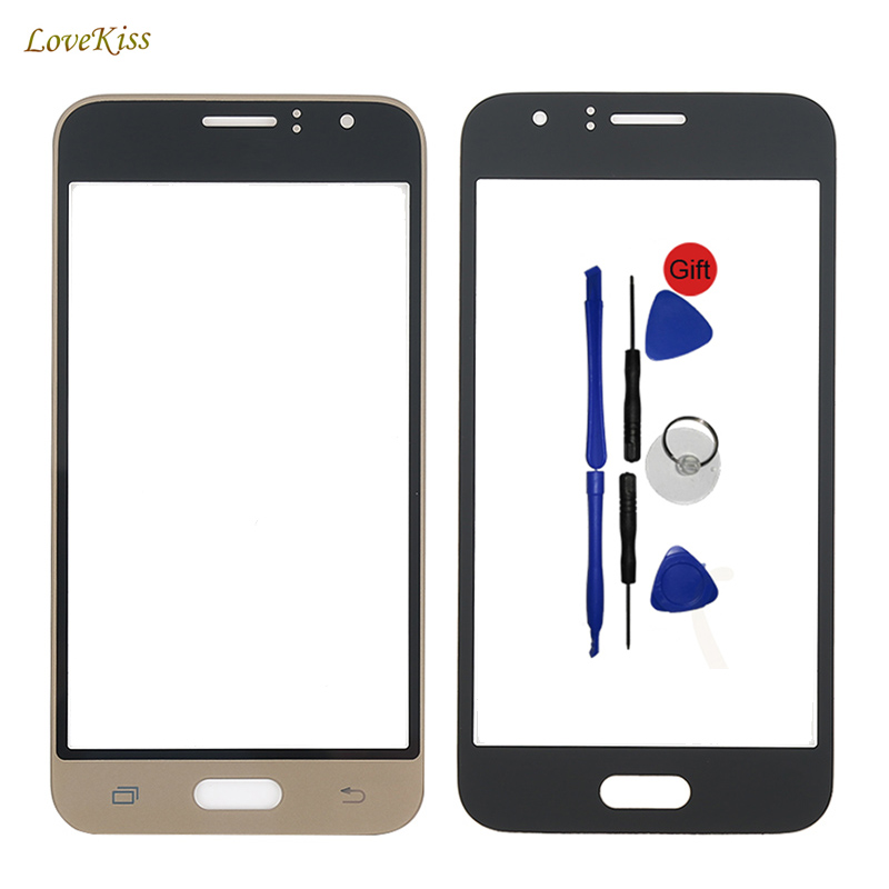 Touch Screen Panel For Samsung Galaxy J1 2016 J120F J120 J120M J120H Front Glass Replacement Free Sticker Adhesive Tape No Logo