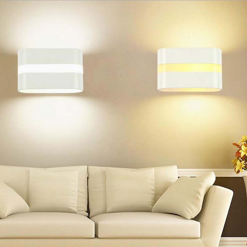 Strong-Willed 10pcs/lot 10w Led Indoor Surface Mounted Outdoor Cube Lamparas De Pared White Up And Down Wall Light For Home Lamp Ac 220v 110v Led Indoor Wall Lamps Led Lamps