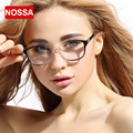 NOSSA Fashion Clear Frame Glasses Women's Acetate TR90 Light Eyewear Female Optical Glasses Frame Goggles Myopia Spectacle Frame