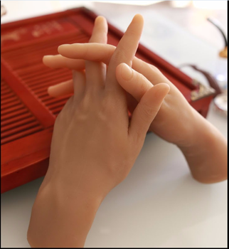 Free Shipping! Best Lifelike Male Hand Mannequin Realistic Mannequin Hand Factory Direct Sell