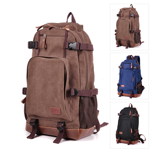 94312a6140 Fashion Retro Style Travel Bag Waterproof Backpack Unisex Zipper Vintage  Bags Men And Women Backpacks-in Backpacks from Luggage   Bags on  Aliexpress.com ...