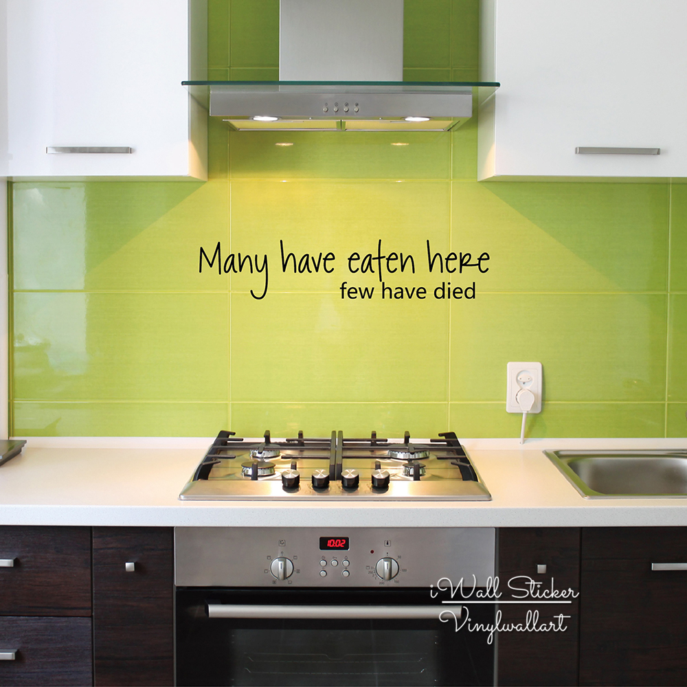 Kitchen Quote Wall Sticker Home Quote Wall Decal Kitchen Wall Quotes ...