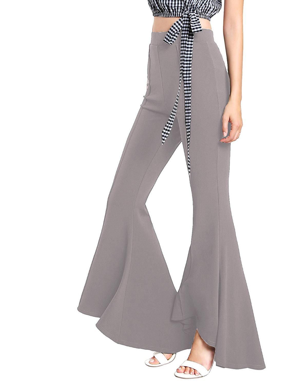 Vrouwen Streetwear Broek Hoge 20