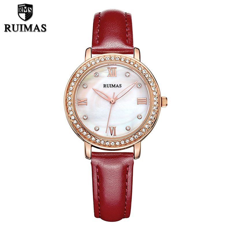 RUIMAS Ladies Watch Relogio Feminino Luxury Women Watches Horloges Vrouwen Quartz Watch for Women Montre Homme Marque De Luxe relogio feminino just for us