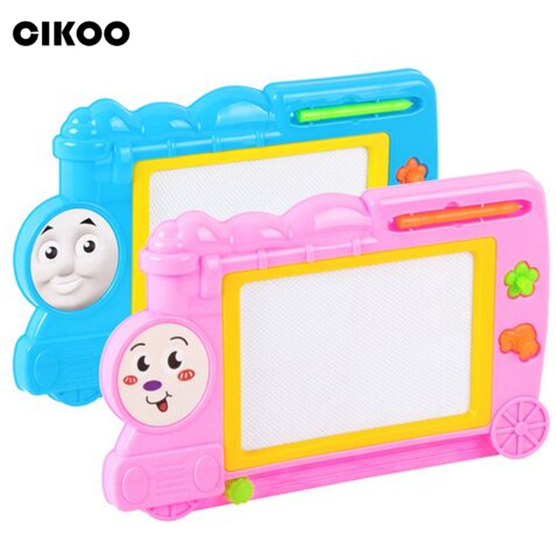 Learning & Education 1pcs Children Magnetic Learning Writing Drawing Doodle Board Painting Set Kids Stencil Education Toys Hobbies Toys & Hobbies