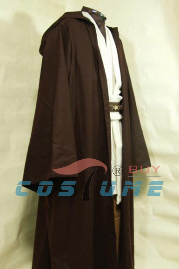 Cosplay Star Wars Jedi Anakin Skywalker Costume Master Obi-Wan Kenobi Ben Cosplay კოსტუმი Tunic ჰელოუინი Cloak