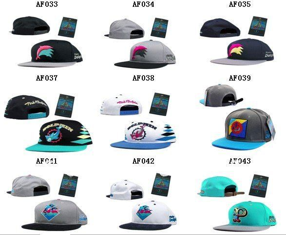09a217e251c ... switzerland free shipping pink dolphin snapback hats the bigger order  discount custom adjustable cap wholesale mix
