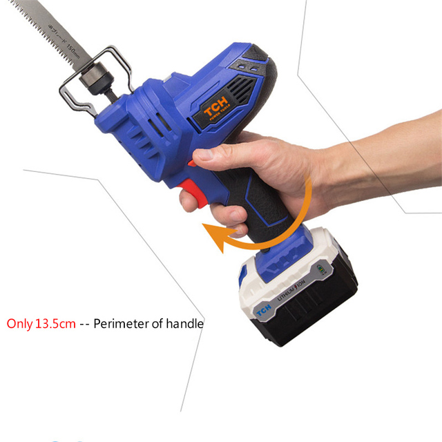 TCH Electric 16V Portable Charging Reciprocating Saw Electric Saber Saw for wood mutifunctional power tools 4