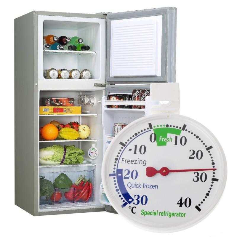 Refrigerator Freezer Thermometer Fridge Refrigeration Temperature Gauge Home use