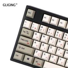 Русский Корейский Японский PBT Keycap OEM профиль краситель Sub Тепловая Сублимация для Cherry MX механическая клавиатура клавишный переключатель