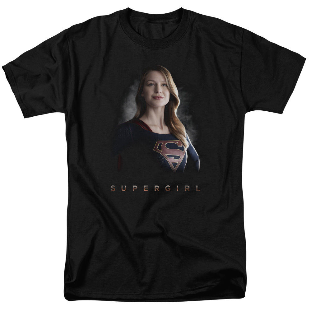 Supergirl TV Show STAND TALL Licensed Adult T-Shirt All Sizes Men Brand Clothihng Top Quality Fashion Mens T Shirt 100%Cotton