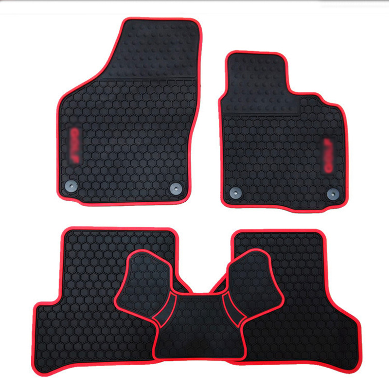 New Genuine Dedicated Front Rear Floor Slip Resistant Rubber Font B Mats B Font For Rhd on 2012 Vw Beetle Floor Mats