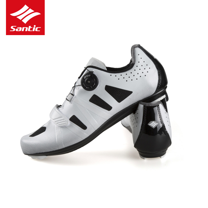 Santic Cycling Shoes Men 2018 Self-Locking Road Bike Shoes Breathable - Cycling - Photo 5