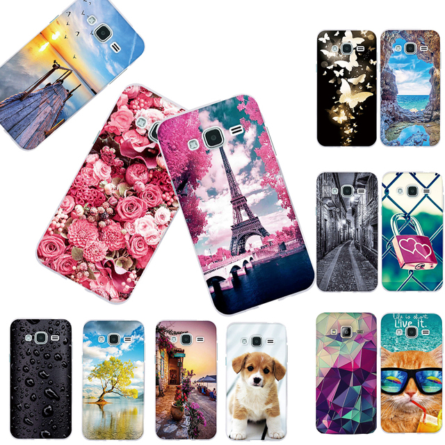 Case for Samsung Galaxy J3 2016 J320 J320F J320P Cover 3D Painting Soft TPU Back Cover for Samsung J3 2016 Phone Case Silicon
