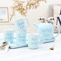 Европа фарфоровые чашки кофе набор Великобритании керамическая чашка чая послеобеденный чай вечерние простой drinkware Новые Симпатичные home