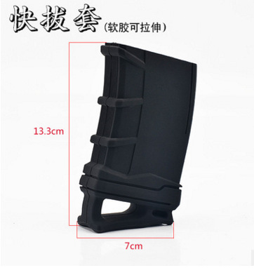 Image 5 - Tactical 5.56 NATO Magazine Pouch rubber holster for M4 / M16 Hunting Accessories-in Hunting Gun Accessories from Sports & Entertainment