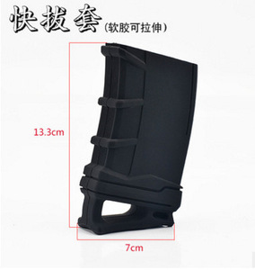 Image 5 - Tactical 5.56 NATO Magazine Pouch rubber holster for M4 / M16 Hunting Accessories