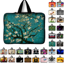 Van Gogh Draagbare Ultrabook Soft Sleeve Laptop Bag Case Cover Voor Macbook 9.7 11.6 13.3 14.4 15 15.6 17.3 Inch voor Asus Acer Hp