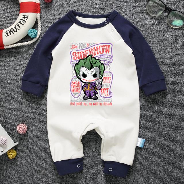 Pyjamas Bébé LE JOKER – Barboteuse Bébé À Manches Longues
