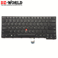 미국 영어 키보드 Lenovo Thinkpad E450 E450C E455 E460 E465 Teclado 04X6101 04X6101 04X6141 SN20E66101