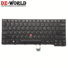 ใหม่ Original US แป้นพิมพ์ภาษาอังกฤษสำหรับ Lenovo Thinkpad E450 E450C E455 E460 E465 Teclado 04X6101 04X6101 04X6141 SN20E66101